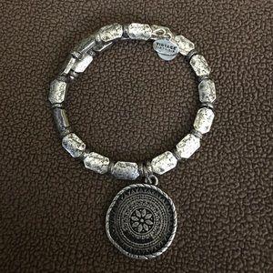 Alex & Ani Silver Lakshmi Wrap Bracelet